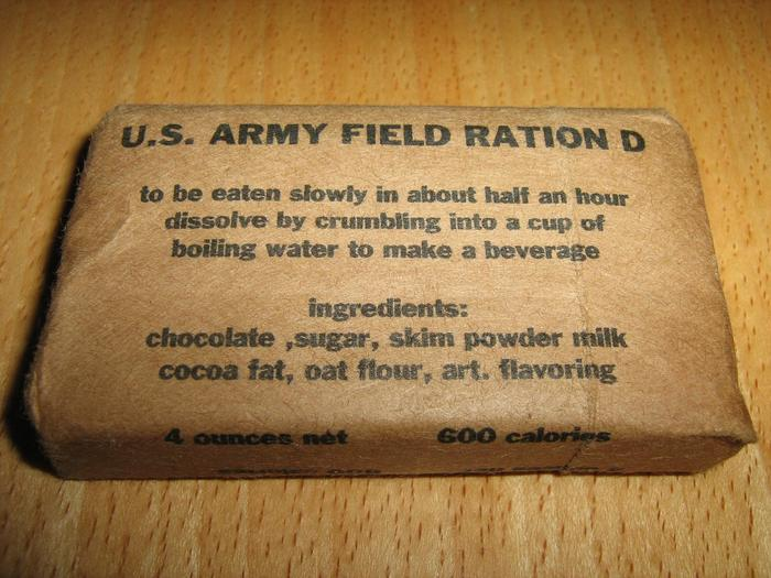 「chocolate ration revolutionary war」的圖片搜尋結果